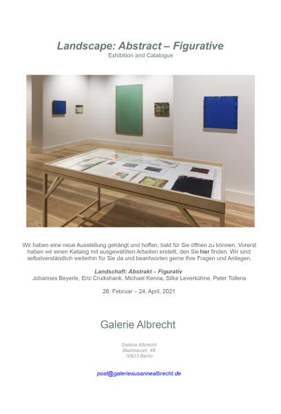 «Landschaft Abstrakt - Figurativ» galerie albrecht -